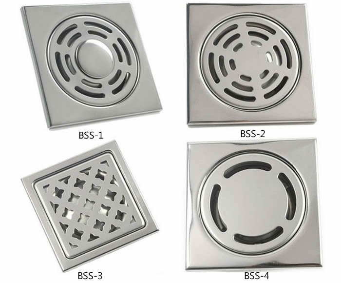 Four Kinds Of Flat Sink Strainer Covers In Different Holes