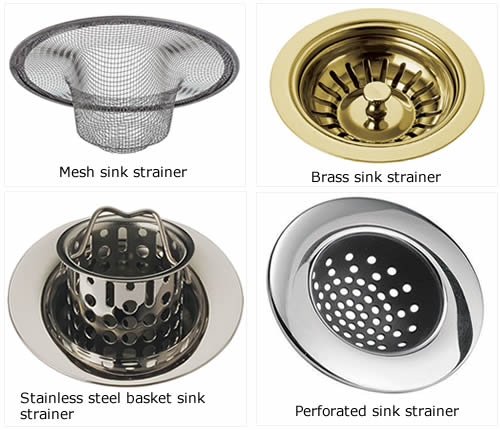 Incroyable Mesh Sink Strainer, Perforated Sink Strainer, Basket Sink Strainer And  Brass Sink Strainer.